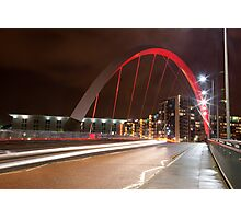CLYDE ARC (SQUINTY BRIDGE) - GLASGOW  Photographic Print