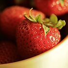 Strawberries by Hannah Welbourn