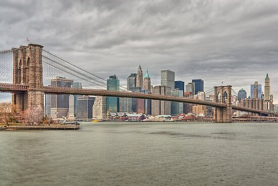 Brooklyn Bridge by JHRphotoART
