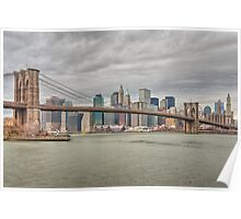 Brooklyn Bridge Poster