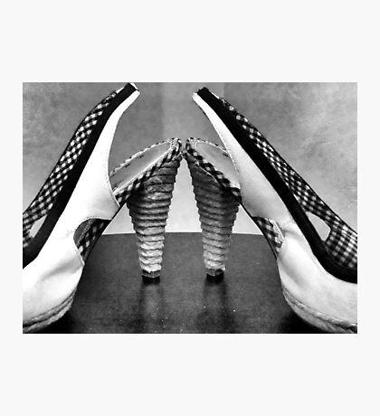Dancin Shoes Photographic Print