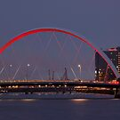 CLYDE ARC (SQUINTY BRIDGE) - GLASGOW by GillianSweeney
