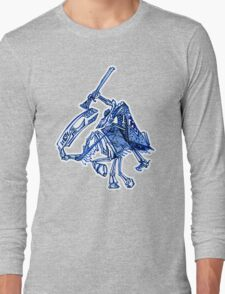 Skeleton Horse Long Sleeve T-Shirt