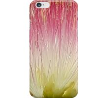Pink And Yellow Silk Tree Flower iPhone Case/Skin