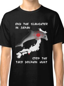 Protest the Taiji Dolphin Hunt Classic T-Shirt