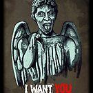 Weeping Angel by Remus Brailoiu