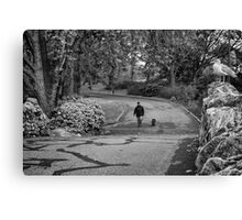 Eyes in the Park Canvas Print