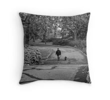 Eyes in the Park Throw Pillow