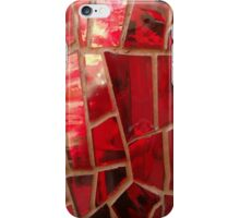 Shattered Red iPhone Case/Skin