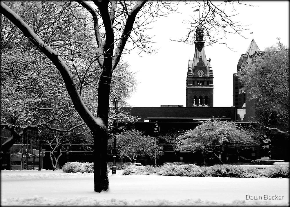 Downtown Cathedral Square Park © by Dawn M. Becker