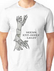 Ent-irely Legit #2 Unisex T-Shirt