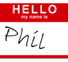 His name... was Phil Sticker