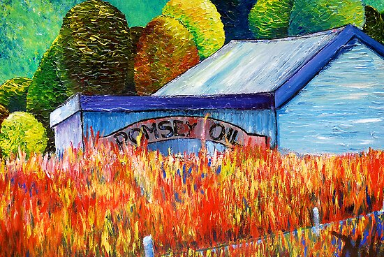 Romsey Oil by MIchelle Thompson