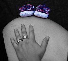 Baby's new shoes by davidprentice