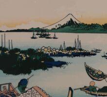 Buyō tsukuda jima 001 Sticker