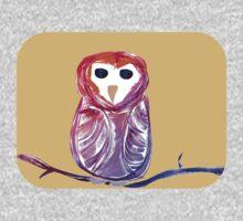 Whimsical Owl Kids Tee