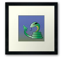 snake Framed Print