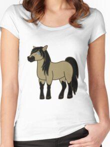 Buckskin Horse Women's Fitted Scoop T-Shirt