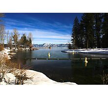 Into the Truckee Photographic Print