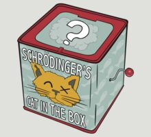 Schrödinger's Cat in the Box by Turlguy
