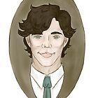 Sherlock Holmes Cameo by Dralore