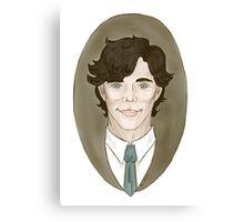 Sherlock Holmes Cameo Canvas Print