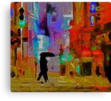 Thursday Night Canvas Print