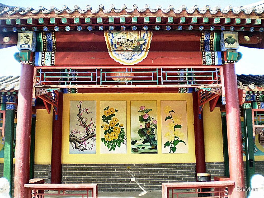 Beautiful Chinese Shelter - Chinese Gardens, Bendigo by EdsMum
