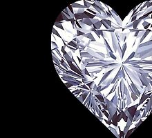 Diamond Heart Left by rapplatt