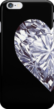 Diamond Heart Left by rapplatt