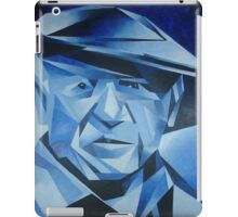 Cubist Portrait of Pablo Picasso: The Blue Period iPad Case/Skin