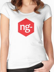 Angular.js Programmer T-shirt & Hoodie Women's Fitted Scoop T-Shirt