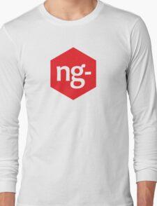 Angular.js Programmer T-shirt & Hoodie Long Sleeve T-Shirt
