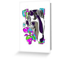 Air Max and Monsters Greeting Card