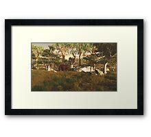 Bear Kingdom Framed Print