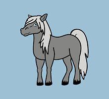 Gray Horse Unisex T-Shirt