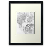 An Afternoon with a Goddess Framed Print