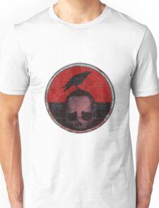 deceased mercenary patch sticker Unisex T-Shirt