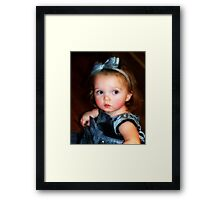 An Angel. . .Sometimes Framed Print