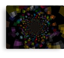 The Deep Inside In To The Galaxy Of Colors Canvas Print