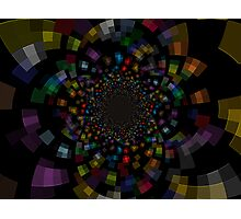 The Deep Inside In To The Galaxy Of Colors Photographic Print
