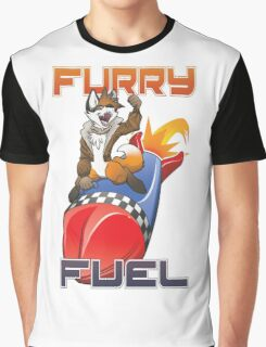 Furry Fuel 2015 Edition Logo Only Graphic T-Shirt
