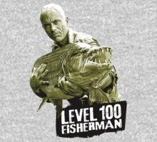 Jeremy Wade - Level 100 Fisherman One Piece - Long Sleeve