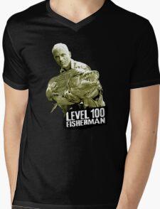 Jeremy Wade - Level 100 Fisherman Mens V-Neck T-Shirt