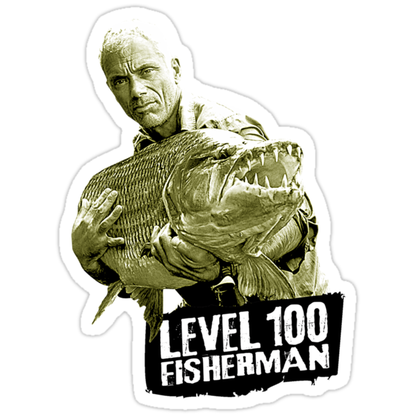 Jeremy Wade - Level 100 Fisherman by GKdesign