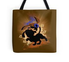Super Smash Bros. Tan Duck Hunt Dog Silhouette Tote Bag