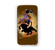 Super Smash Bros. Tan Duck Hunt Dog Silhouette Samsung Galaxy Case/Skin