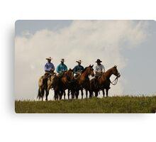 Cowboys Canvas Print