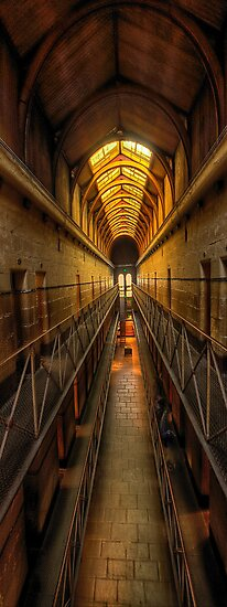Porridge #2- Old Melbourne Gaol, Melbourne Victoria Aust. - The HDR Experience by Philip Johnson