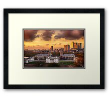 London View I Framed Print